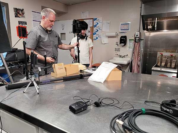 Chrysalis House: Video Filming