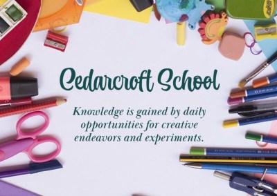 Cedarcroft School Social Media