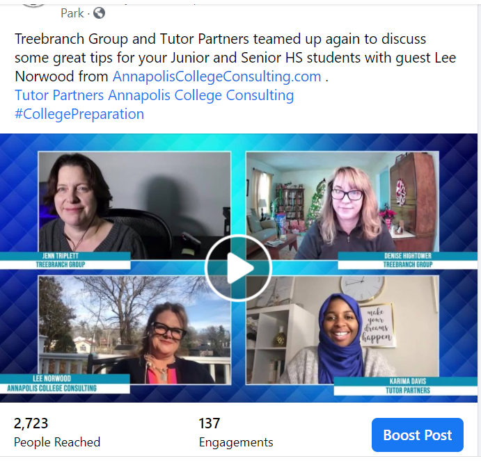 Parent Virtual Learning Support Livestream: Tutor Partners