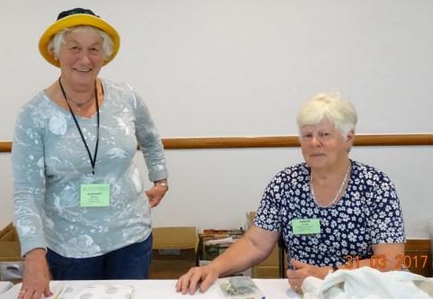 Margaret Nicholls & Jennifer Hutson