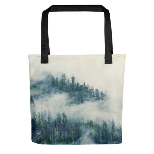 All-Over Print Tote - Mountain