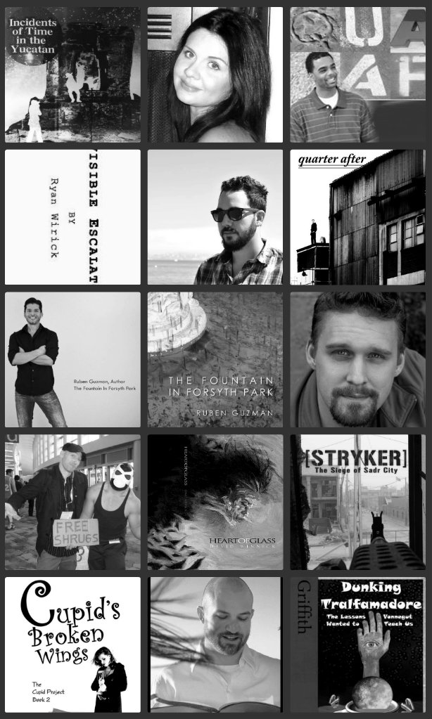 Collage for past 2012 artists