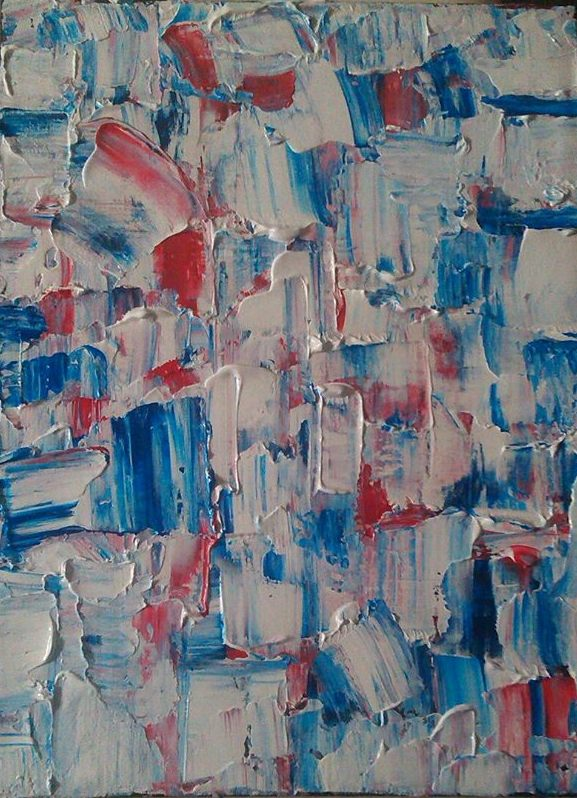Water or Red, White and Blue by Steven Tutino