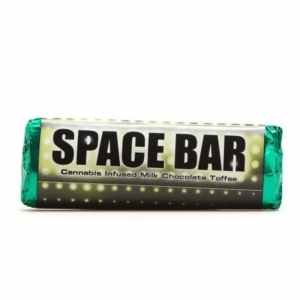Space Bar 180MG Cannabis Infused Milk Chocolate Toffee