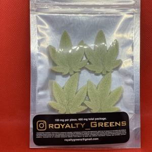 ROYALTY GREENS Gummies – Sour Apple 400mg