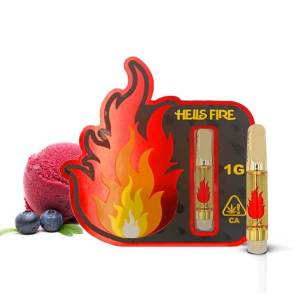 Hells Fire Extracts White Widow Cartridge