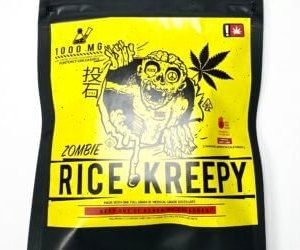 ZOMBIE 1,000 MG THC RICE KREEPY CAUTION: VERY STRONG! NEW!