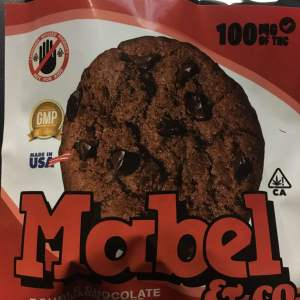 MARBEL DOUBLE CHOCOLATE CHIP 100MG CANNABIS INFUSED COOKIE
