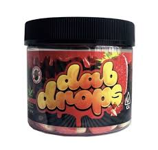 DAB DROPS – 300MG STRAWBERRY