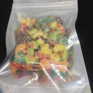 BERRY CRUNCH 500MG CEREAL TREATS