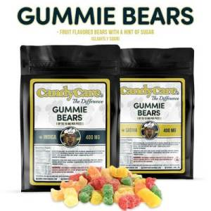 CANDY CARE 400MG INDICA GUMMIE BEARS