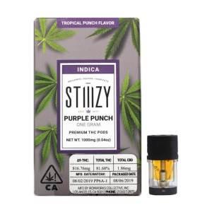 STIIIZY PURPLE PUNCH 1 GRAM PREMIUM THC POD