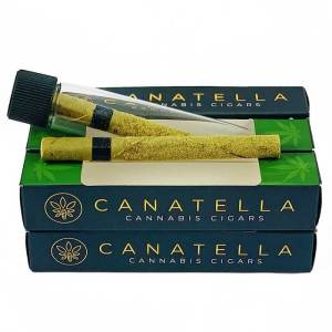 CANATELLA PREMIUM CANNABIS CIGAR-GOLDEN KIEF-HYBRID