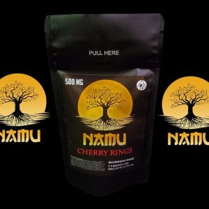 NAMU 500MG CANNABIS INFUSED CHERRY DROPS