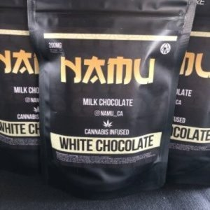 NAMU 500MG WHITE MILK CHOCOLATE