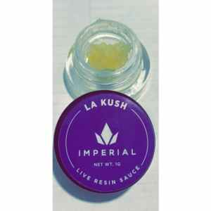 IMPERIAL EXTRACTS | LA KUSH LIVE RESIN| 1 GRAM DIAMOND SAUCE