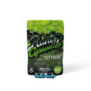 RUNTZ ETHER 500MG GREEN APPLE CANNABIS INFUSED GUMMIES