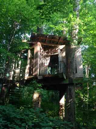 Treehouse in the US - airbnb treehouse in Atlanta-028