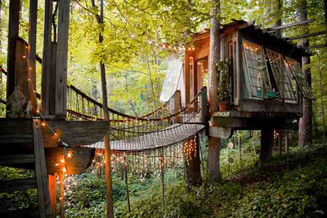 Treehouse in the US - airbnb treehouse in Atlanta-030