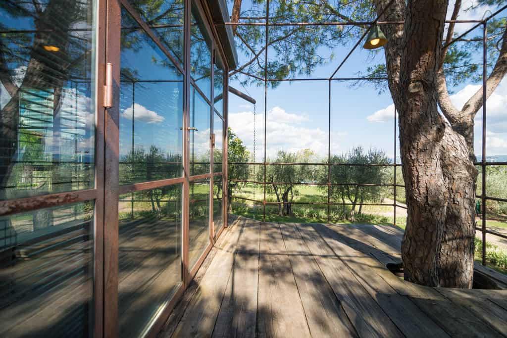 Treehouse In Italy Casa Barthel Treehouse Map