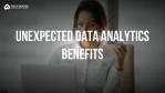 data analytic benefits