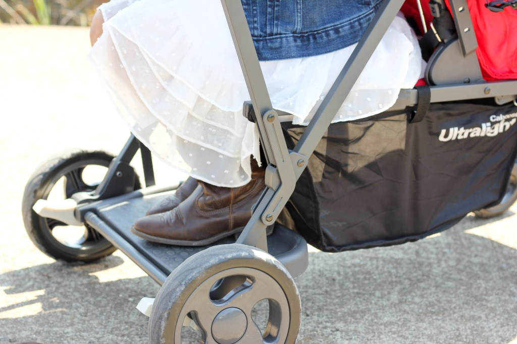 Tandem Strollers A Review Of The Joovy Caboose Ultralight