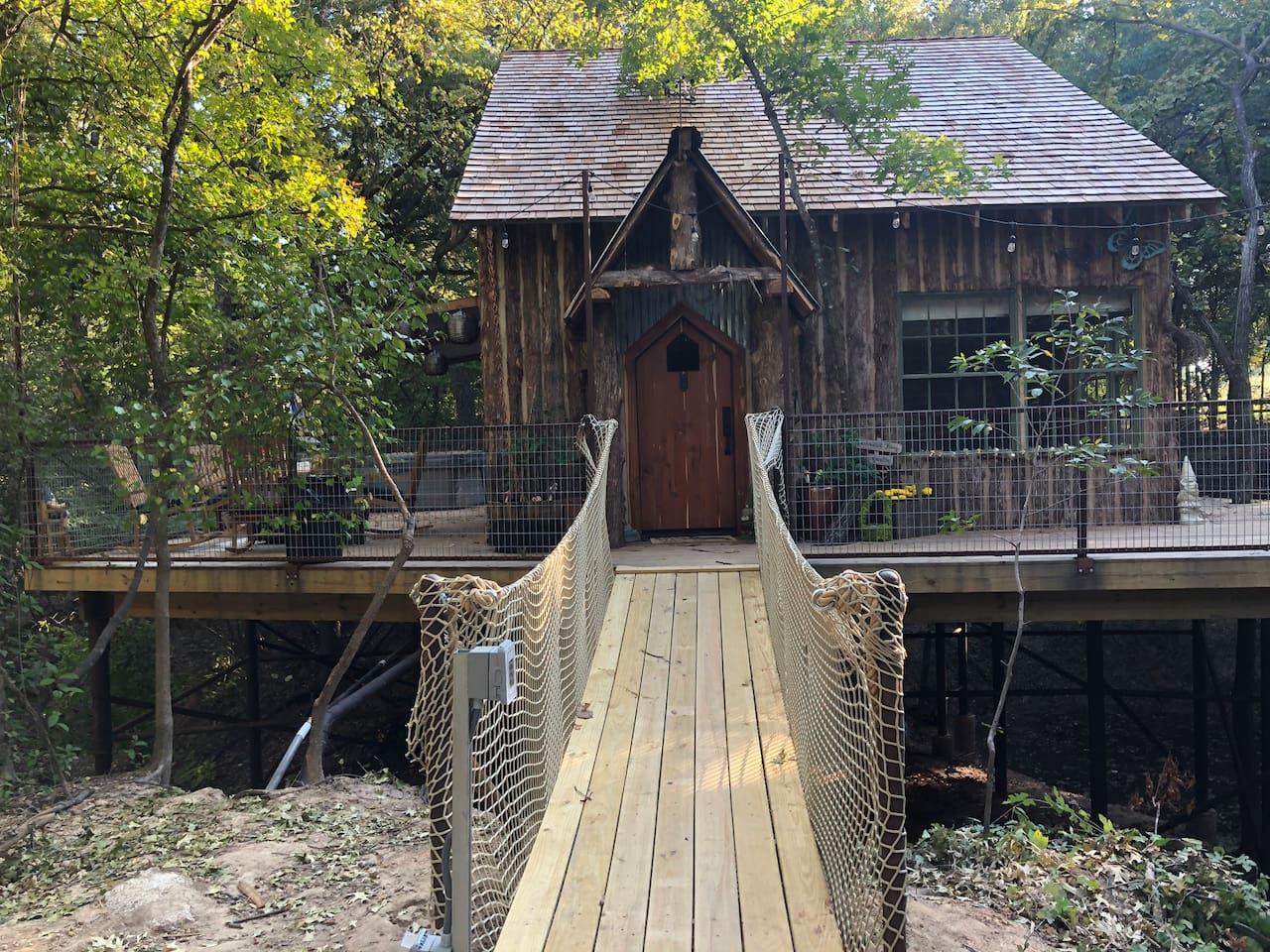 Unique Treehouse Texas Rentals