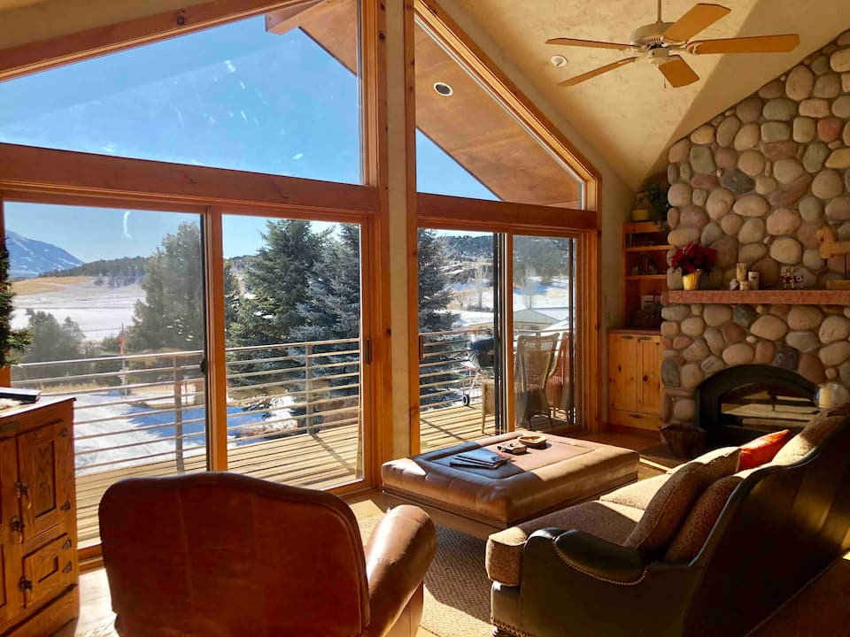 Angel's Camp,PVT Cabin,Horses, BLM trails, View !