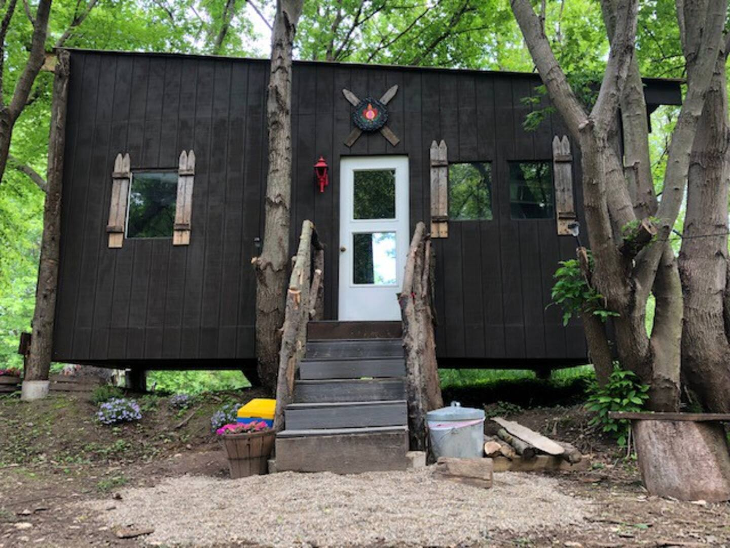 Glamping Treehouse in Michigan