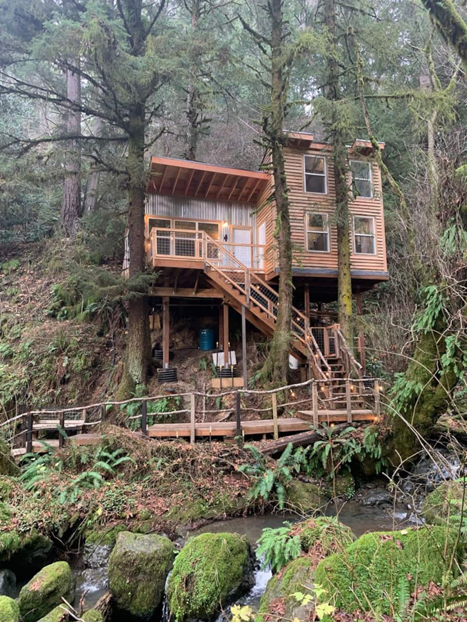 Lilly Glen Tree House at Taylor Creek Lodge