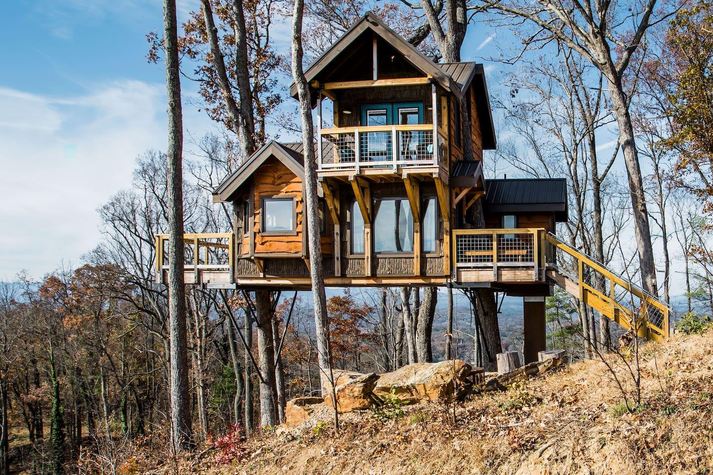Sanctuary - Treehouses of Serenity Asheville North Carolina