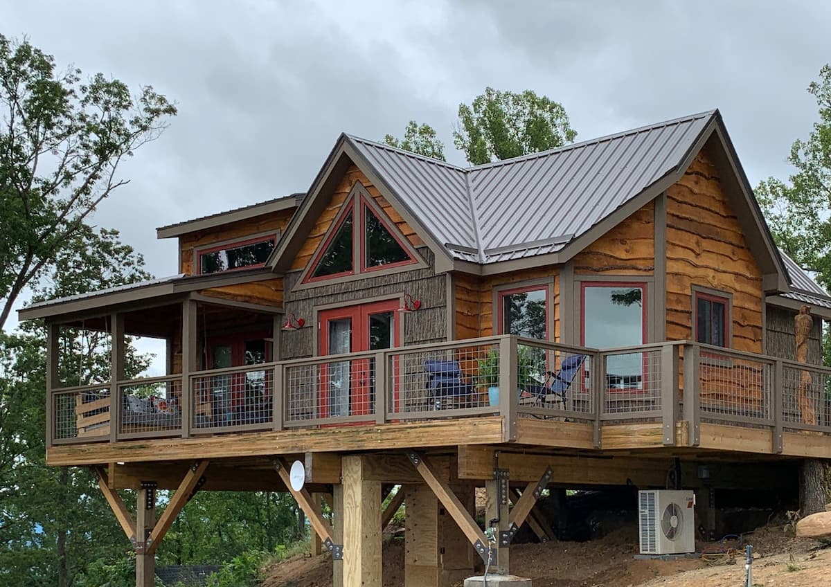 The Perch - Treehouses of Serenity North Carolina