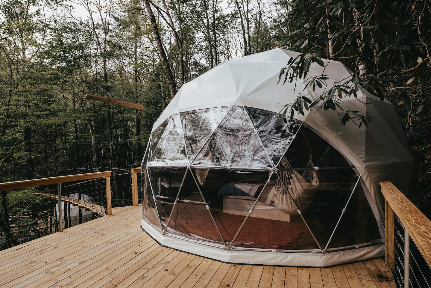 Turtle Dome - treehouse rentals in kentucky