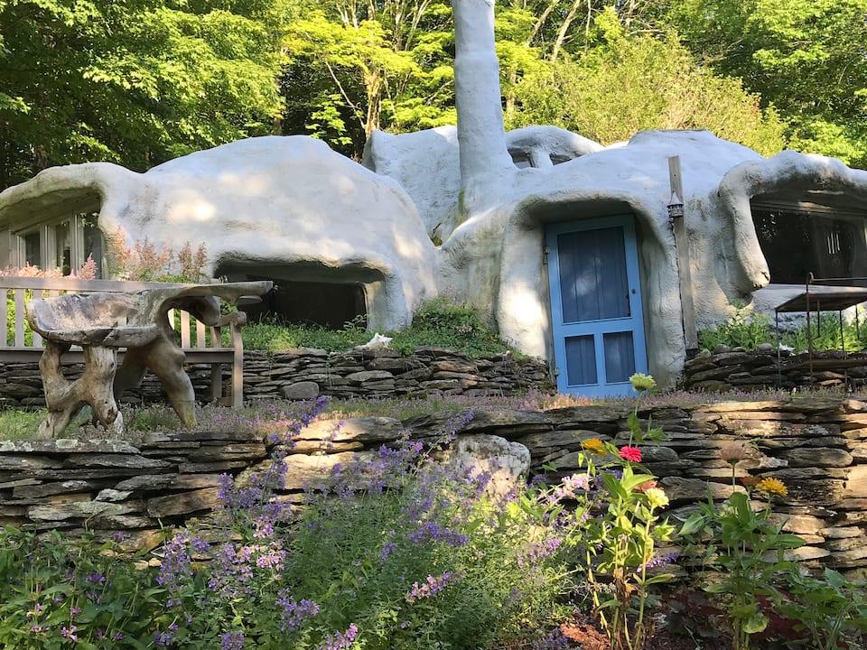 Whimsical Stone Abode - Boston Magazine