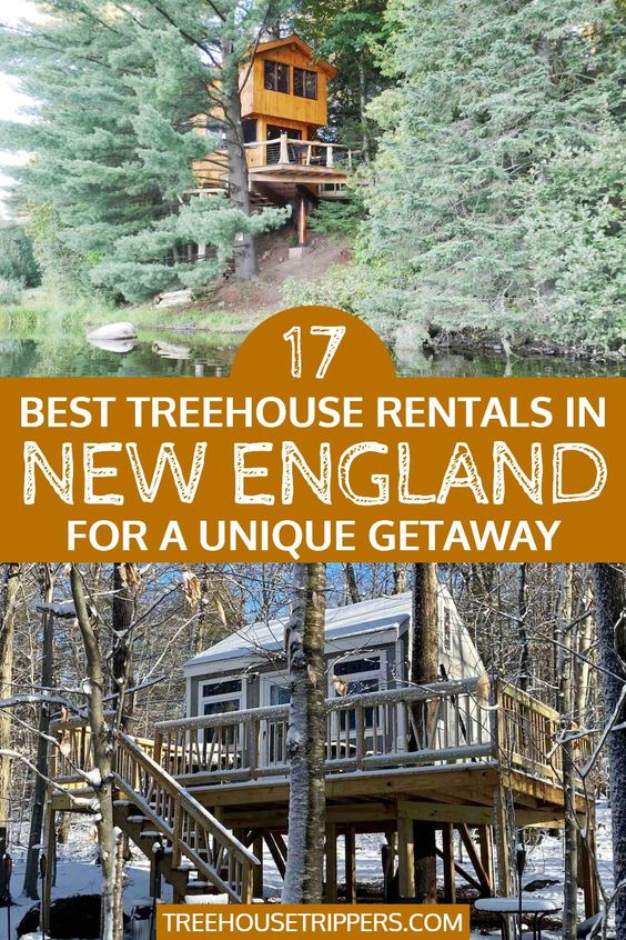 treehouse rentals new england