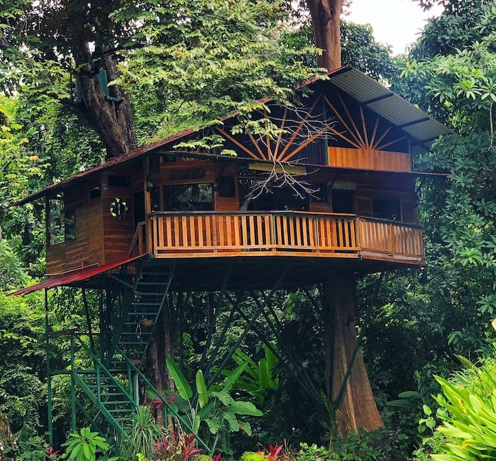 Balinese Inspired Treehouse in Costa Rica