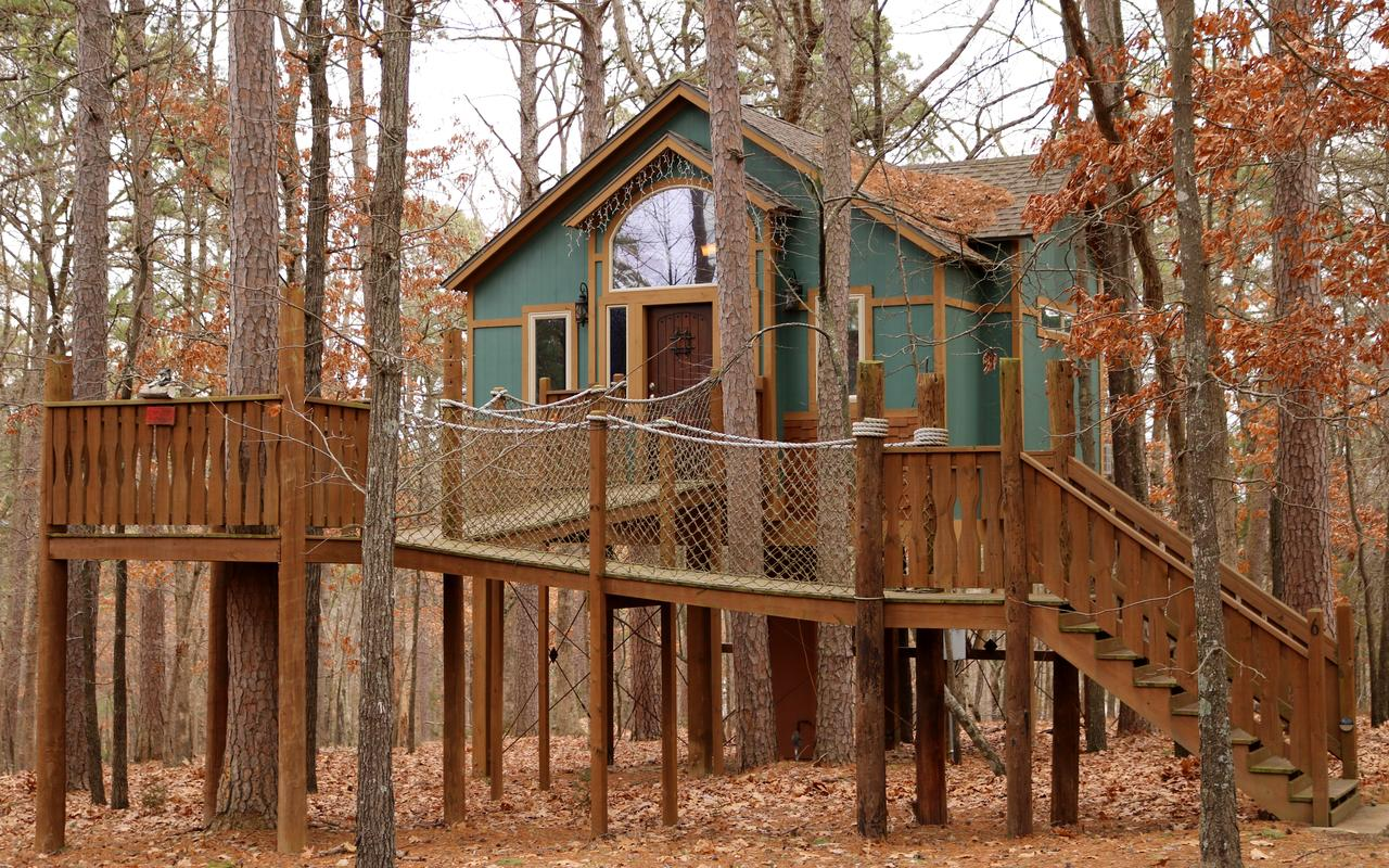 The Grand Treehouse Resort in Eureka Springs Arkansas
