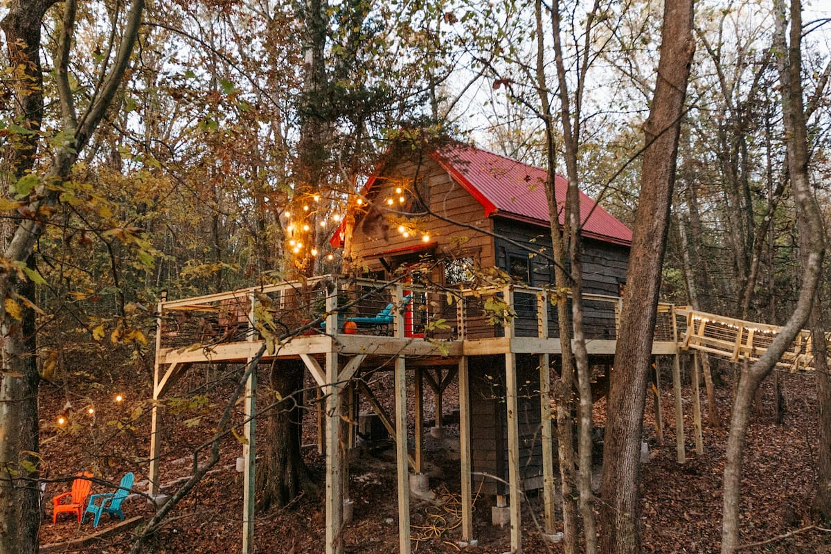 Tranquil Treehouse on Table Rock Lake Missouri