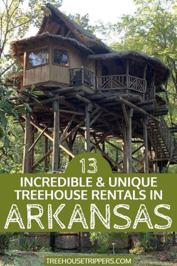 Treehouse Rentals Arkansas