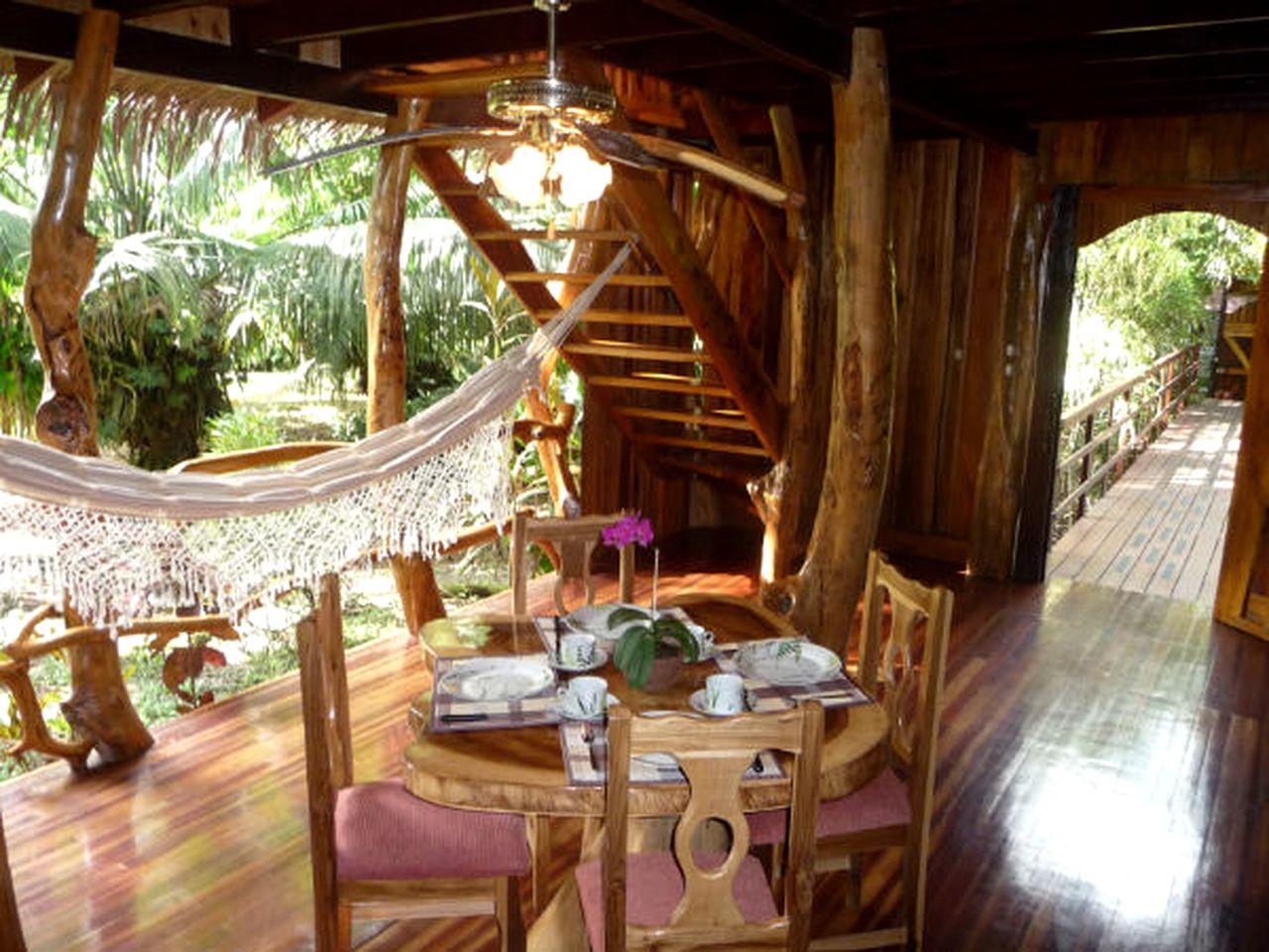 Tropical Treehouse Near Playa Negra, Costa Rica