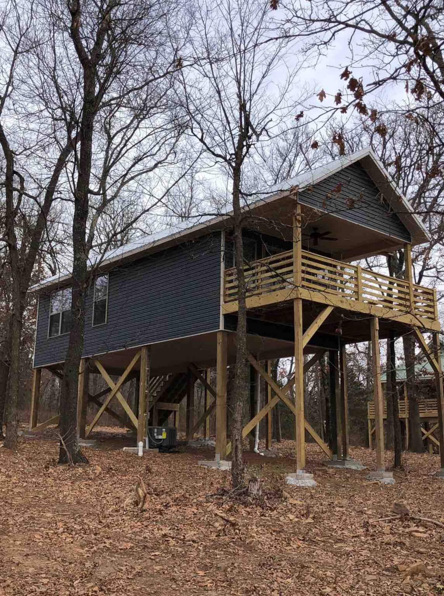 best treehouse rentals arkansas