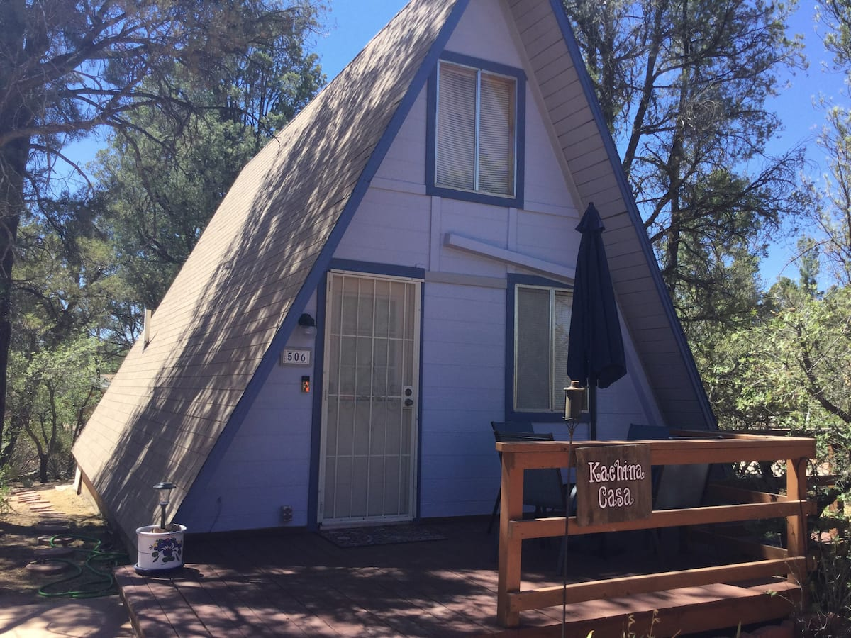 A Frame Cabin Arizona Rental