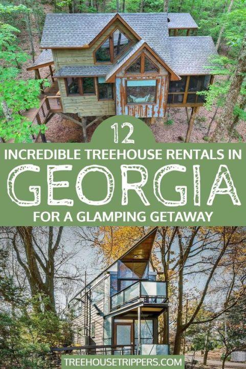 Georgia Tree House Rentals - pinterest