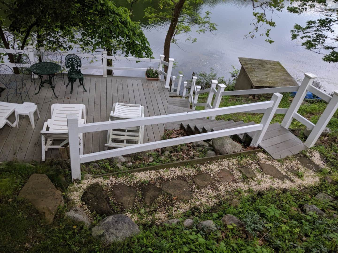 Lake House Cottage Rental in New Jersey