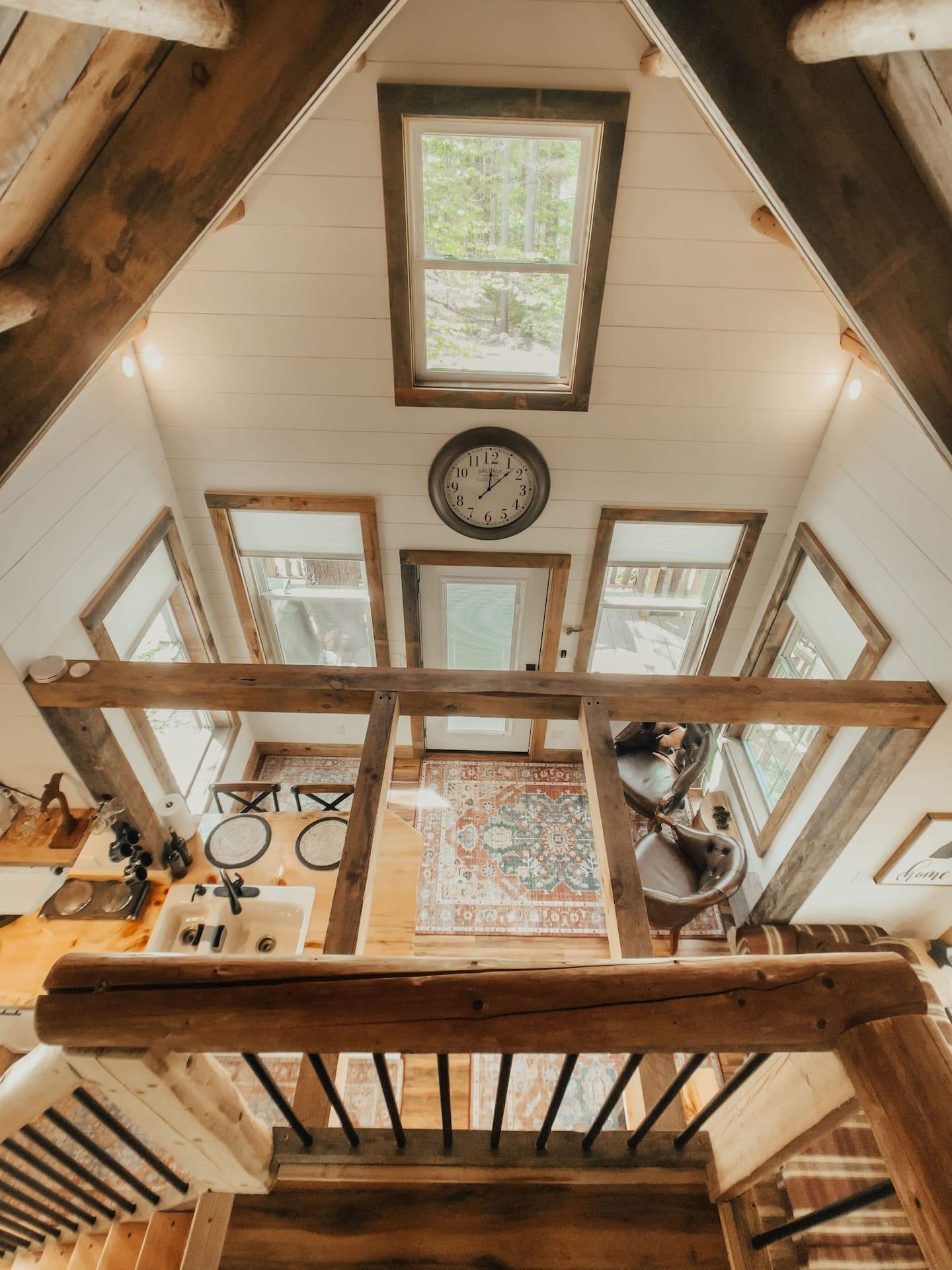 New Hampshire Treehouse Rental