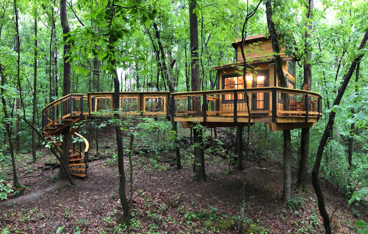 Owl in the Oak Treehouse - Private Forest Escape