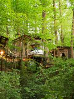 Secluded Intown Treehouse Georgia Airbnb