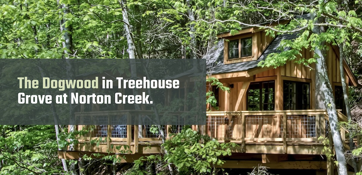 The Dogwood Treehouse Rental Gatlinburg