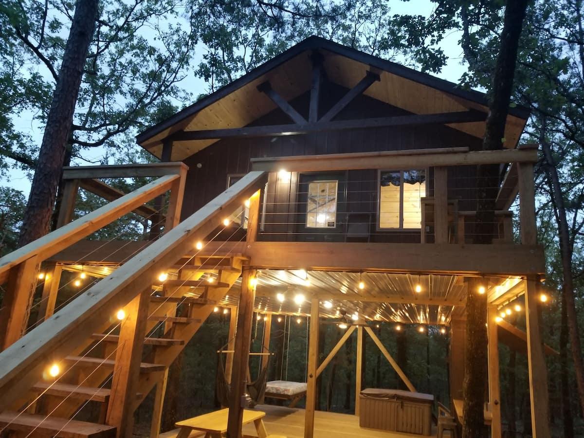 treehouse cabins oklahoma
