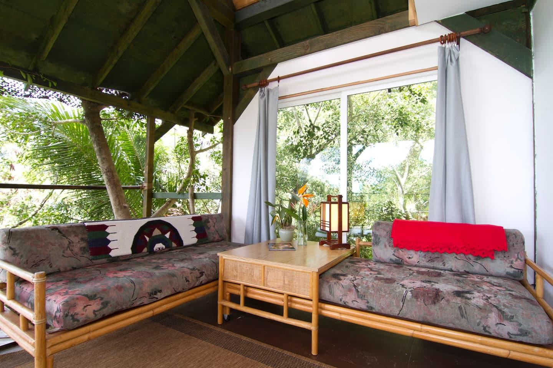 Sunset Beach Temple Treehouse Rental Hawaii